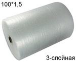 Воздушно пузырчатая пленка Т-75 (100*1,5 м.)