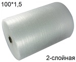Воздушно пузырчатая пленка Д-75 (100*1,5 м.)