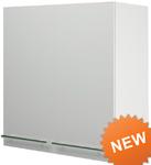 Шкаф навесной с сушкой MD (2х-дверный) (белый)