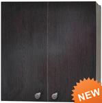 Шкаф навесной с сушкой LD (2-х дверный) (венге)
