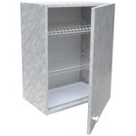 Шкаф навесной с сушкой LD (мрамор)