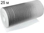Металлизированный вспененный полиэтилен самоклеющийся - Д*Ш: 25*1,2 м.