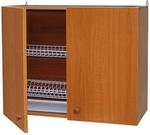 Шкаф навесной с сушкой LD (2-х дверный) (ольха)