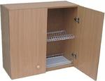Шкаф навесной с сушкой LD (2-х дверный) (бук)